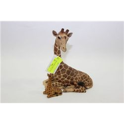 TWO(2) ANIMAL GIRAFFE FIGURES