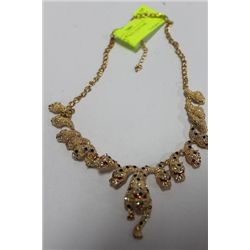 LION NECKLACE, COSTUME JEWELRY
