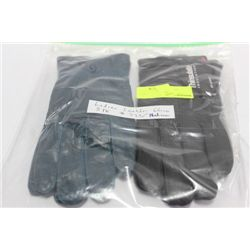 2 PACK OF LADIES LEATHER GLOVES ON CHOICE: SIZE M