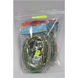 BAG OF NEW BUNGEE CORDS