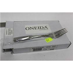 BOX OF 3 DOZEN ONEIDA COMMERCIAL GRADE PLACE FORKS