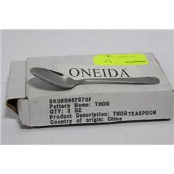 BOX OF 3 DOZEN ONEIDA COMMERCIAL GRADE