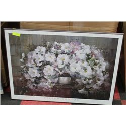 FLORAL FRAMED POSTER ON CHOICE