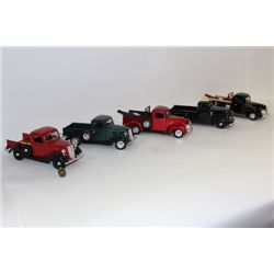 MAISTO DIE CAST COLLECTOR TRUCKS X5