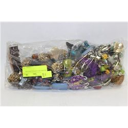 BIG BAG OF COSTUME JEWELRY