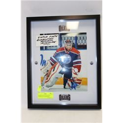 VIKTOR FASTH GUARANTEED AUTHENTIC AUTOGRAPHED
