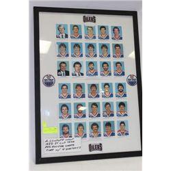 2 COMPLETE UNCUT 1983-84 CUP TEAM