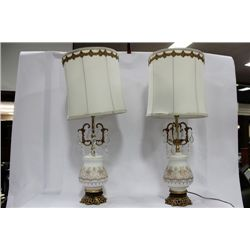 ESTATE PAIR OF LAMPS