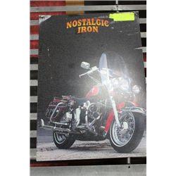 NOSTALGIC IRON METAL MOTORCYCLE SIGN
