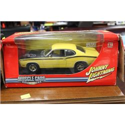 1971 PLYMOUTH DUSTER DIECAST IN BOX SCALE 1:18
