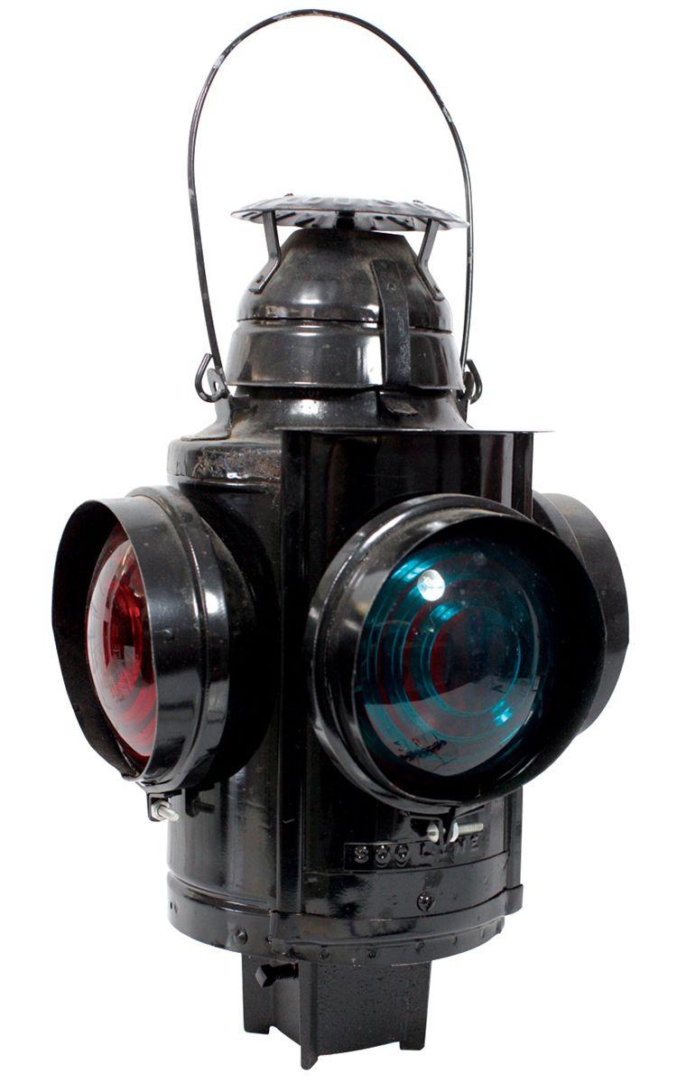 Railroad signal lamp, Handlan-St  Louis, 5