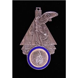 South American Champion Medal in Sterling Silver.