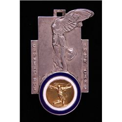 1941 South American Champion Medal. 18k solid Gold