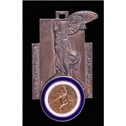 1937 South American Champion Medal. 18k solid Gold