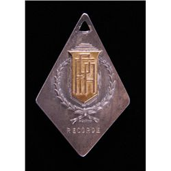 South American Champion Medal. 18k solid Gold center
