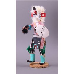 """Bear"", Native American wood Kachina doll.  Mid to Late"