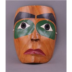 Haida Ceremonial Mask from Canadian Indian Tribe, by
