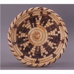 Native American hand woven plate.(Size: See last photo