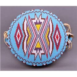 Native American hand beaded purse.