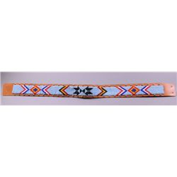 Native American beaded belt.(Size: See last photo for