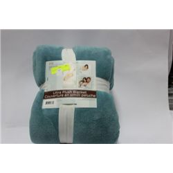 ULTRA - PLUSH BLANKET ON CHOICE: TORQUOISE