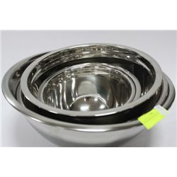 5 PC STAINLESS BOWL SET