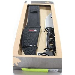 OLYMPIA HUNTING KNIFE W CASE