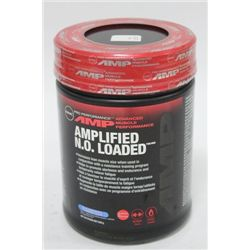 GNC AMPLIFIED BLUE RASPBERRY WORKOUT POWDER