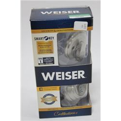 WEISER SINGLE CYLINDER SMARTKEY LOCK ON CHOICE