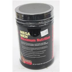 MEGA MEN 2.25 LBS OF NUTRITIONAL SUPPORT FOR MEN