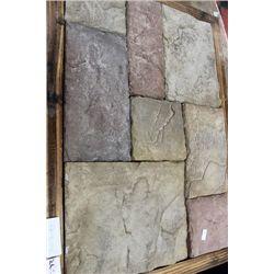 BOX OF ARTIFICIAL CULTURED CASTLE ROCK STONE -