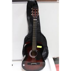 YOUTH ACOUSTIC GUITAR W/ SOFT CASE 3/4 SIZE