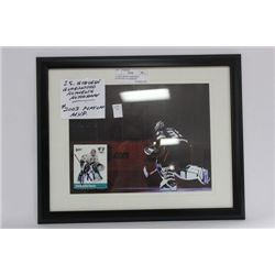 J.S. GIGUERE GUARANTEED AUTHENTIC AUTOGRAPH