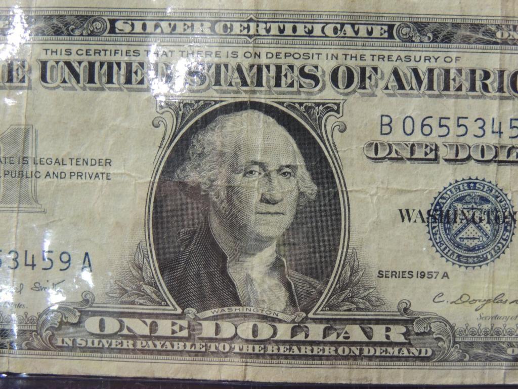 SILVER CERTIFICATE ONE DOLLAR BILL