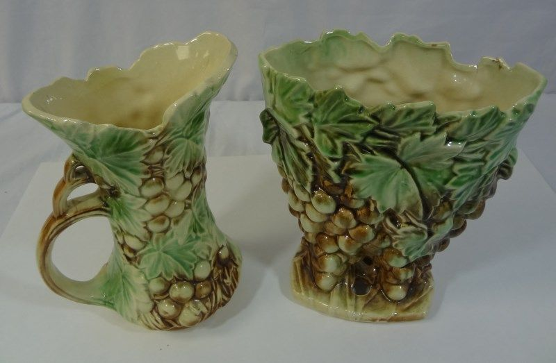 Mccoy Vase And Pitcher Silver City Auctions