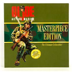 GI JOE Hasbro Action Marine Masterpiece Figure Signed by Don Levine
