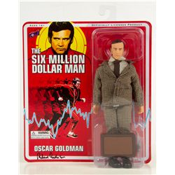 SIX MILLION DOLLAR MAN Oscar Goldman Action Figure Signed by Richard Anderson