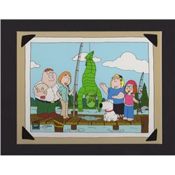 FAMILY GUY Limited Edition Creature from the Black Lagoon Fishing Giclee 2005