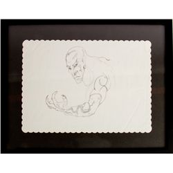 JOHN FASANO Original Demon Monk Placemat