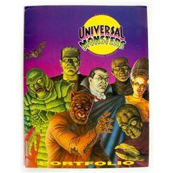 UNIVERSAL MONSTERS Portfolio of 10 Art Prints 1991