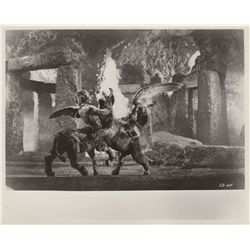 Collection of 8 Ray Harryhausen Vintage Movie Photo Stills