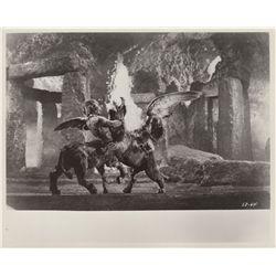 Collection of 8 Ray Harryhausen Vintage Movie Photo Stills