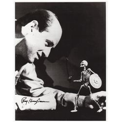 JASON AND THE ARGONAUTS Ray Harryhausen Autographed Photo with COA