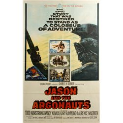 JASON AND THE ARGONAUTS Vintage 1-Sheet Poster Signed by Ray Harryhausen