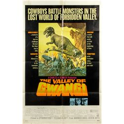 THE VALLEY OF THE GWANGI 1-Sheet Poster Signed by Ray Harryhausen
