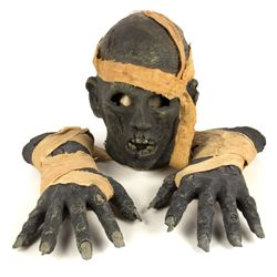 REVENGE OF THE MUMMY Universal Studios Ride Walk-Around Mask & Hands