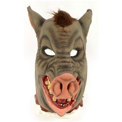 Oversized PIG Head Mask John Fasano-Designed Latex Mask