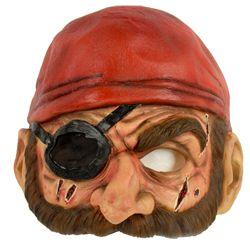 PIRATE Forehead John Fasano-Designed Latex Mask