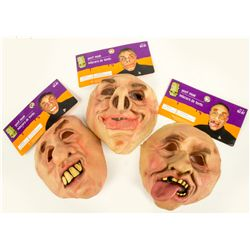 GOOF Masks John Fasano-Designed Set of 3 Latex Masks