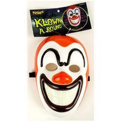 KLOWN A. ROUND John Fasano-Designed Plastic Mask